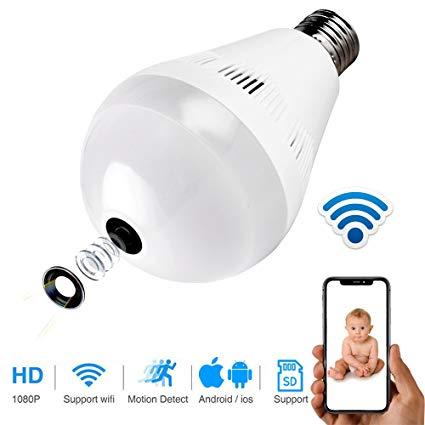 wifi bulb camera